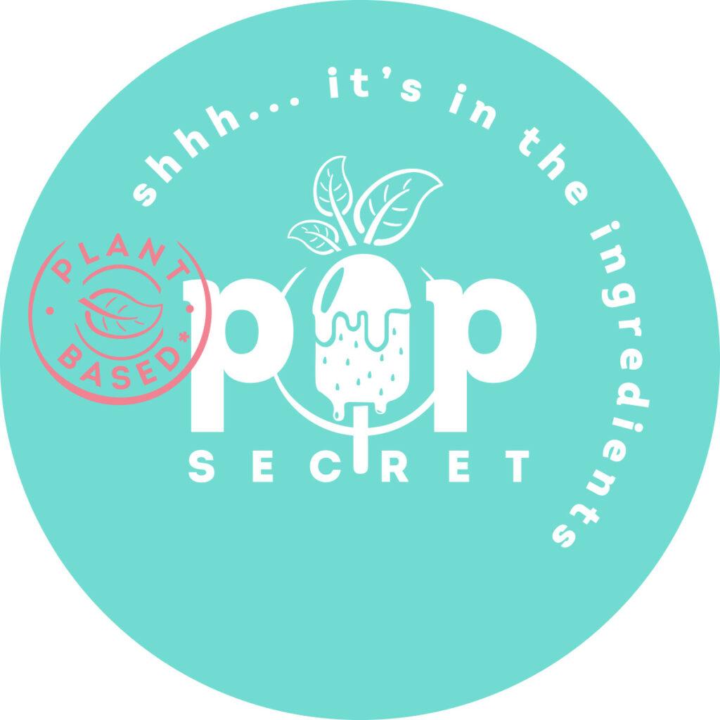 PopSecret Logo Circular WhiteText PlantBased Stamp RGB